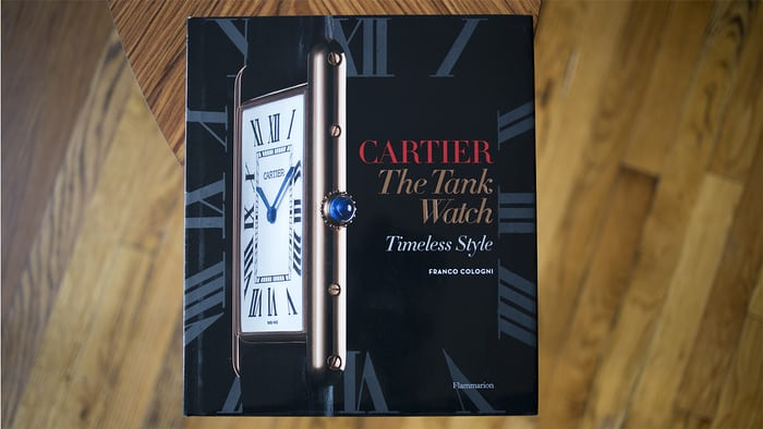 cartier tank timeless style