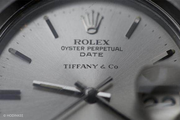 Vintage Rolex Date Reference 1500