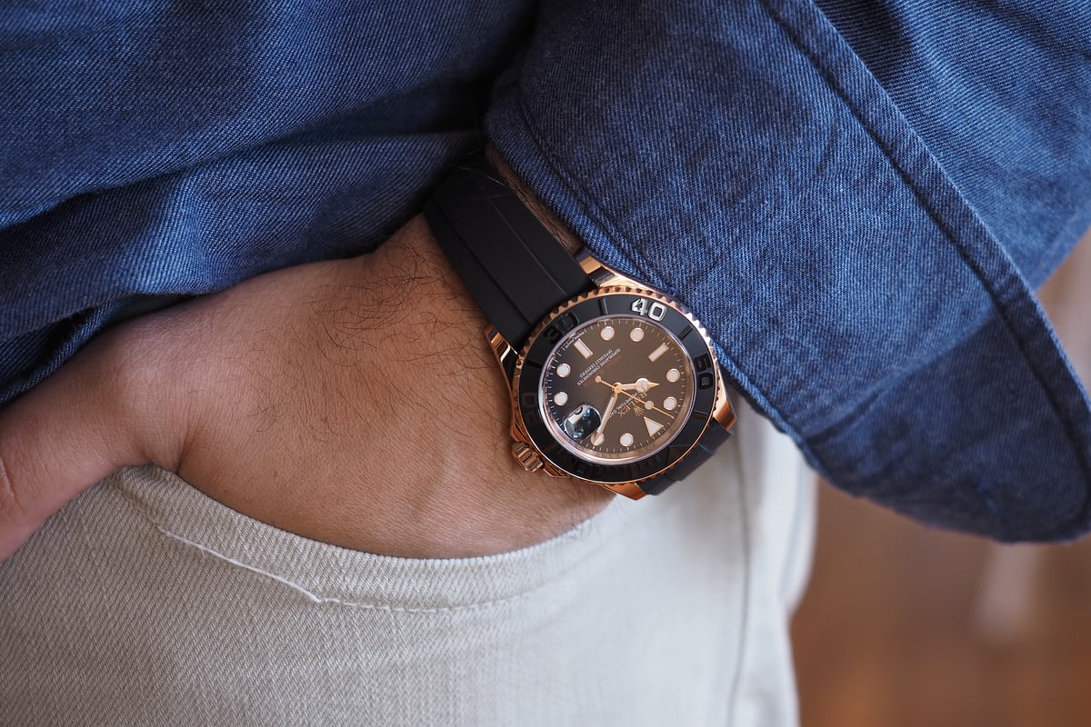 Rolex Yachtmaster Rose Gold 37mm