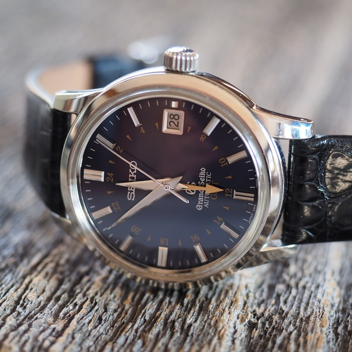 HODINKEE watch I wore most in 2015, Grand Seiko GMT
