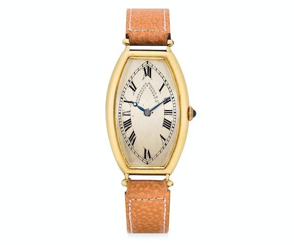 Audemars Piguet Tonneau Watch From 1918