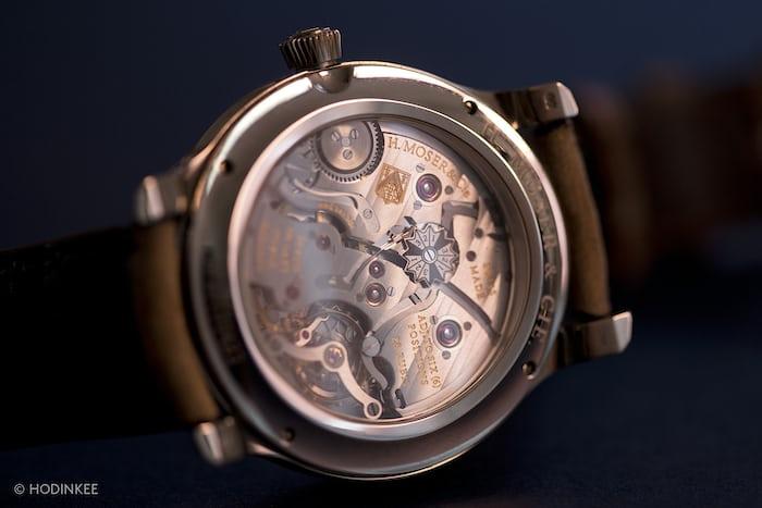 H. Moser & Cie. Endeavor Perpetual Calendar Concept (movement)