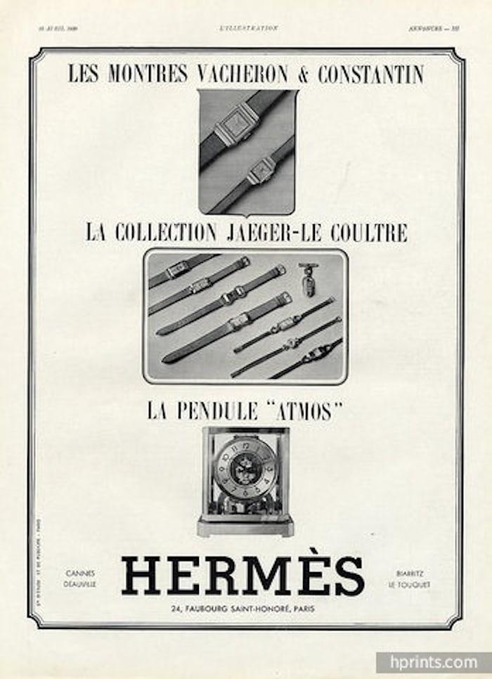 Hermes sells Vacheron Constantin