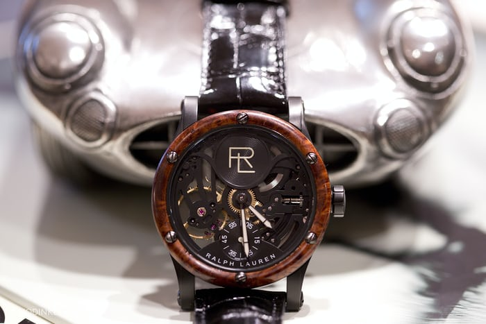 Ralph Lauren's watch collection