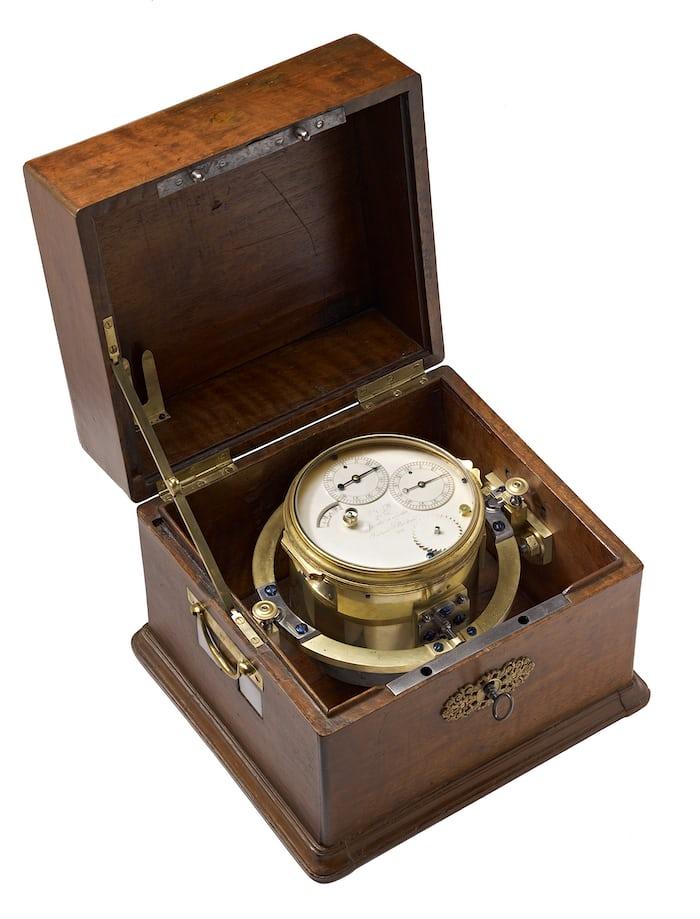 Berthoud Marine Chronometer, 1777