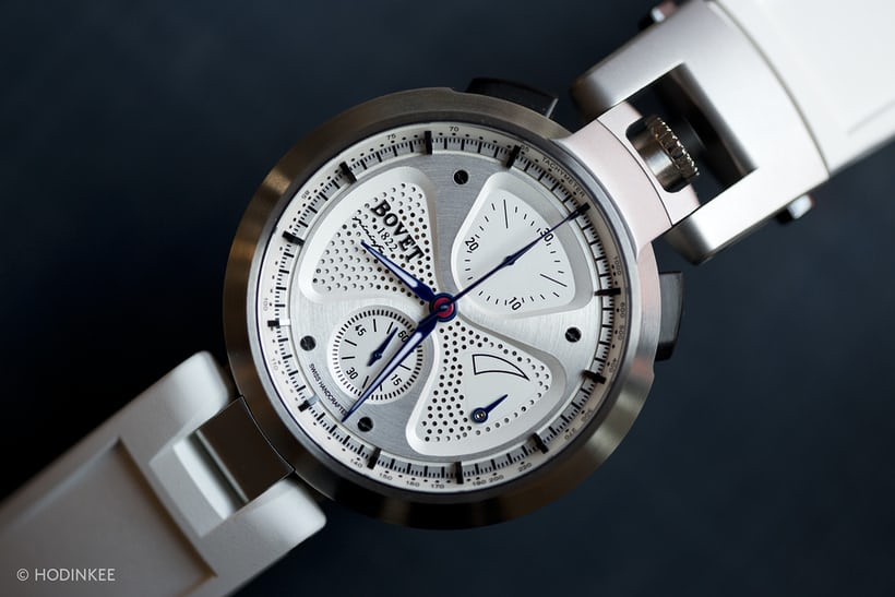 Bovet Pininfarina Sergio 45 split seconds chronograph