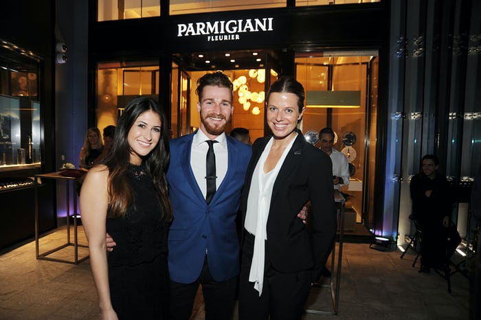 Boutique staff: Andrea Cardenas, Peter Glomb & Julia-Astrid Gourdon