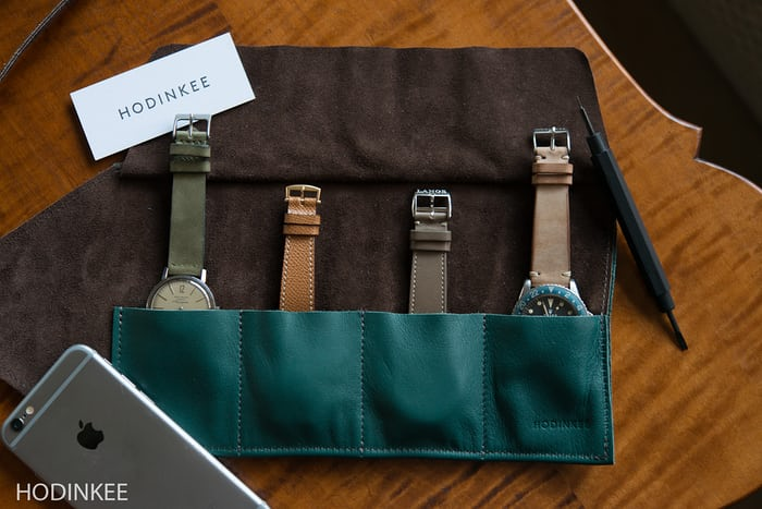 HODINKEE Shop Roll Watch Straps