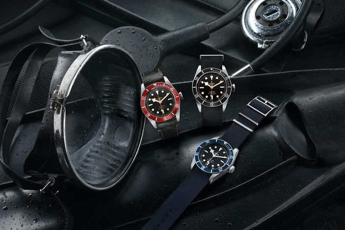 The Tudor Heritage Black Bay Black