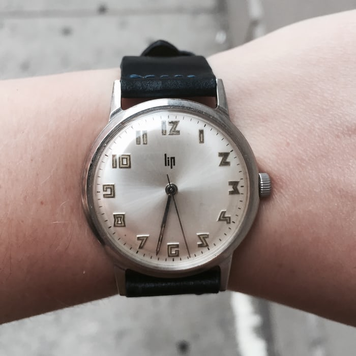 HODINKEE watch I wore most in 2015, vintage Lip