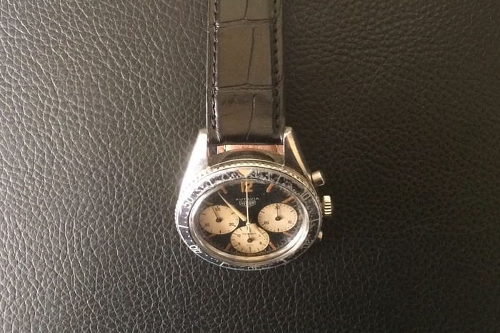 Heuer Autavia reference 2446 first 1st execution