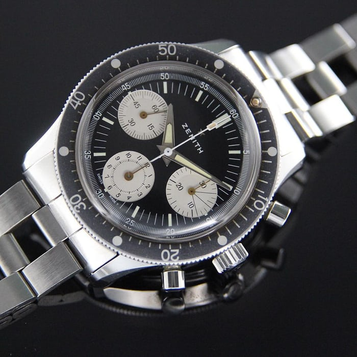 Zenith, Chronograph Diver Reference A277