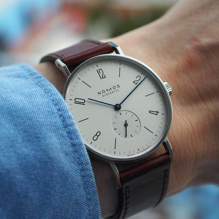 HODINKEE watch I wore most in 2015, NOMOS Tangente