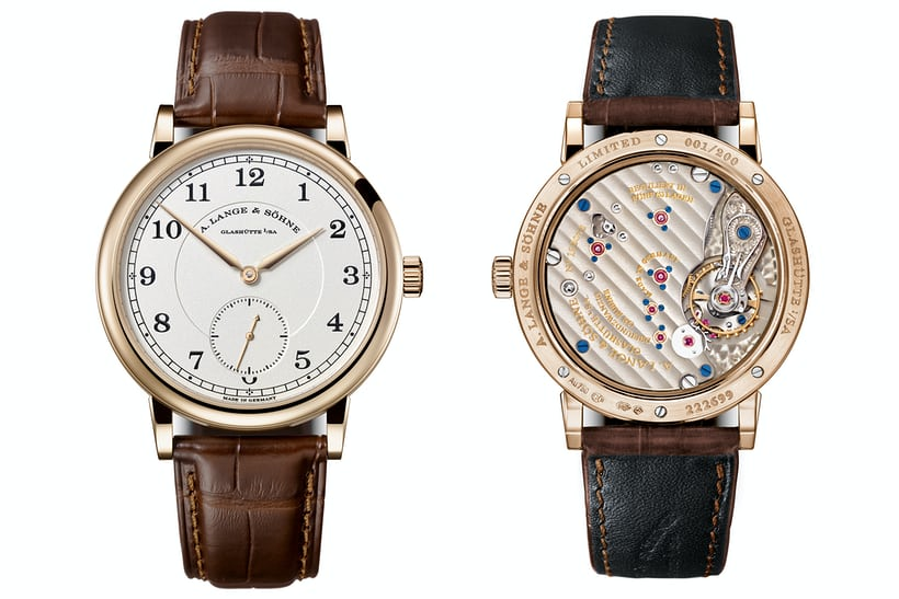 A. Lange & Söhne 1815 Anniversary Of F.A. Lange In Honey Gold