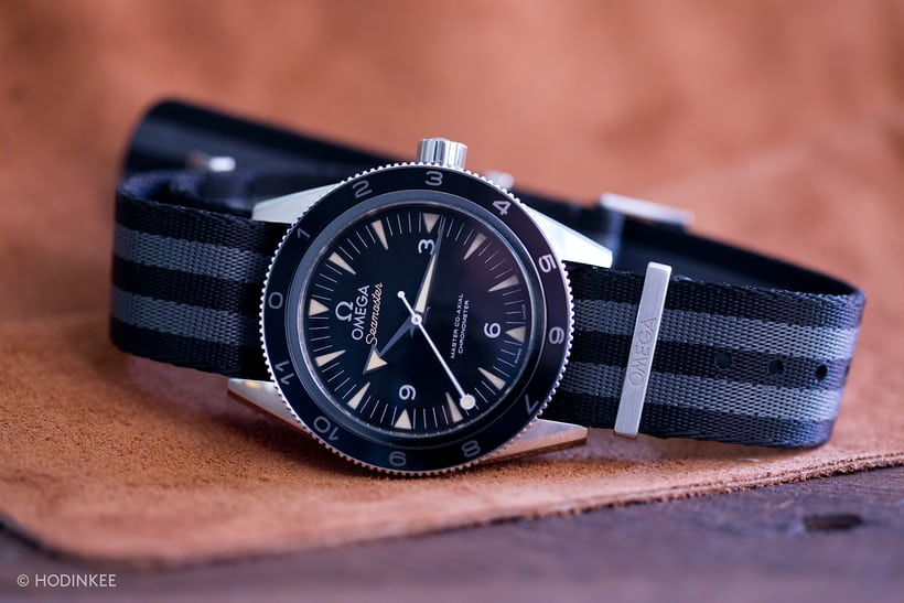 Omega Seamaster 300 SPECTRE limited edition