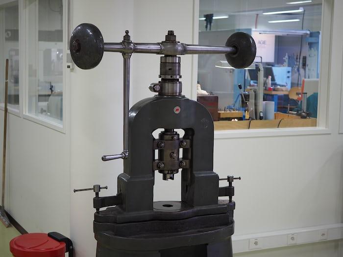 Vintage stamping machine