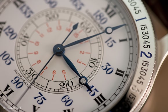 Modern longines lindbergh navigation watch
