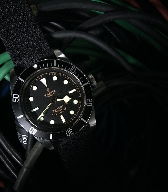 The Tudor Heritage Black Bay Black Reference 79220N