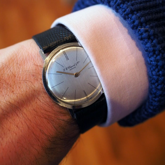 HODINKEE watch I wore most in 2015, L.U. Chopard Et Compagnie