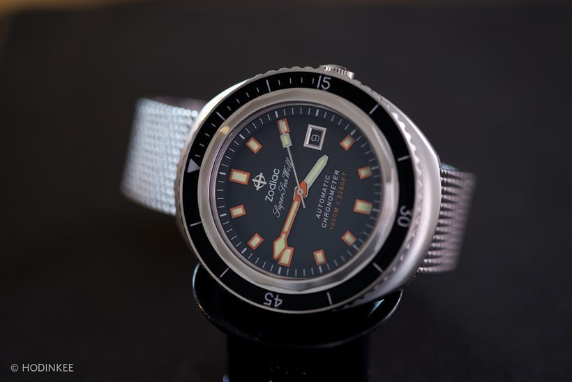 Zodiac Super Sea Wolf 68 Limited Edition COSC Chronometer