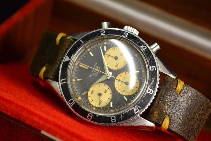 Heuer Autavia Reference 2446 Second Execution