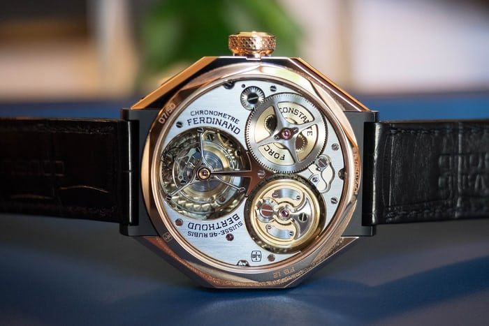 La Chronométrie Ferdinand Berthoud