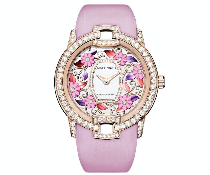 Roger Dubuis Blossom Velvet Pink