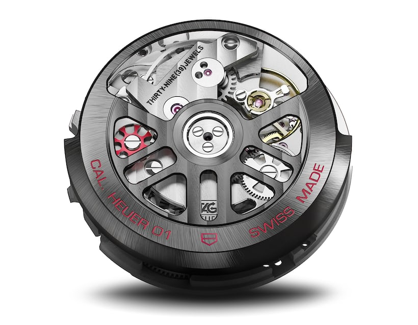 TAG Heuer Carrera - Heuer 01 movement