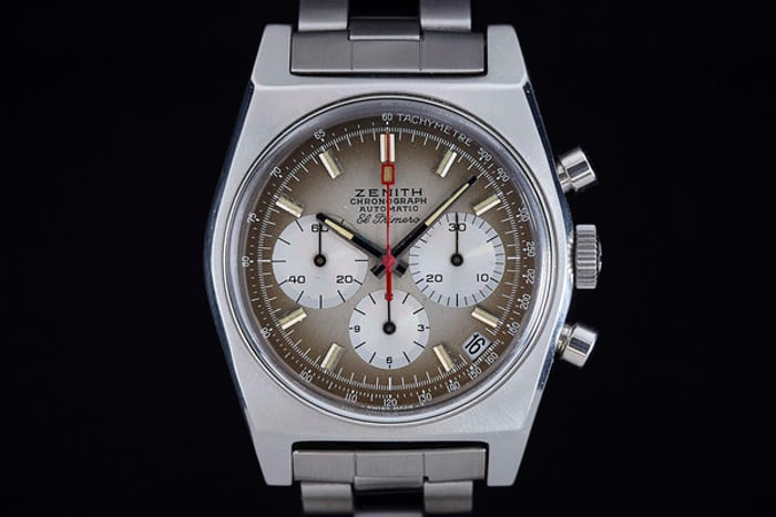 Zenith Reference A385 With El Primero Movement