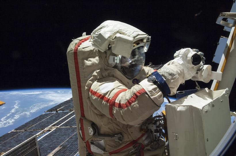 ISS EVA 2014 (NASA image)