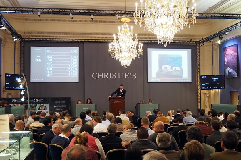 Inside the Christies Auction