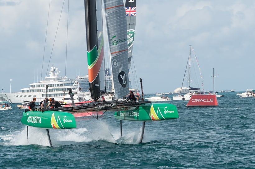 Groupama Team France in full foil