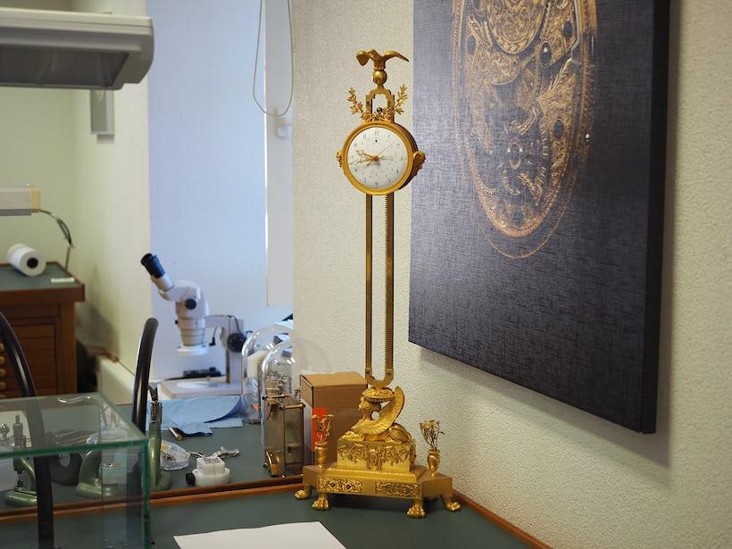 Weight-driven clock