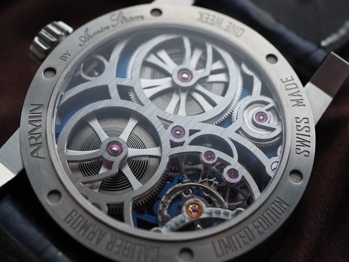 Armin Strom Skeleton Pure Water