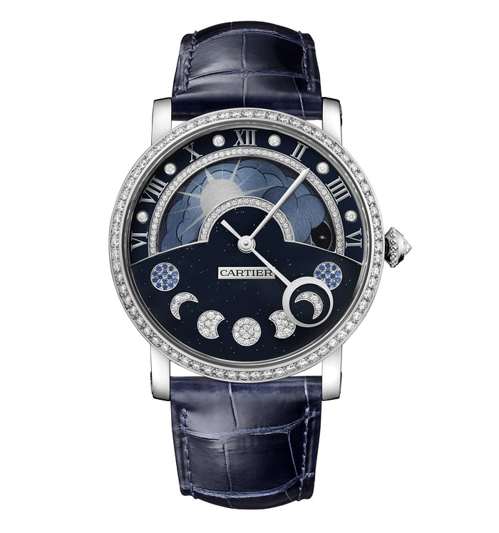 cartier day night retrograde moon phase 2016