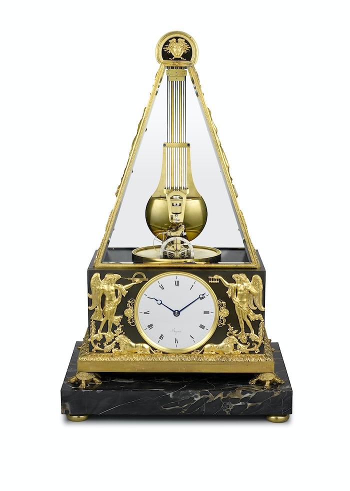 Breguet No. 449, Clock With Constant Force Escapement