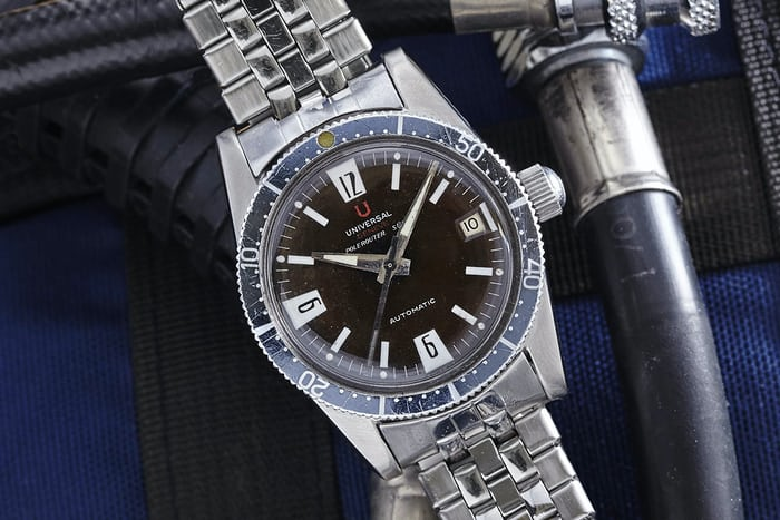Universal Geneve Polerouter Sub Diver