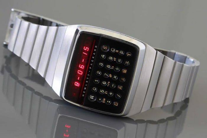 Hewlett-Packard HP-01 calculator wristwatch