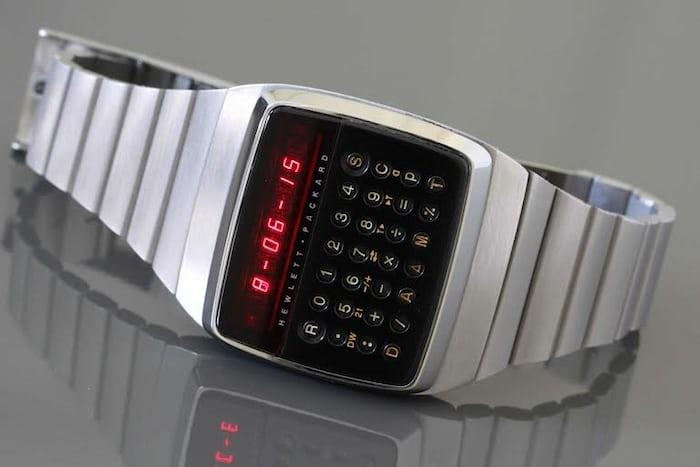 Hewlett-Packard HP-01 calculator wristwatch