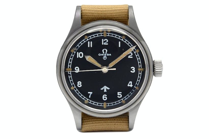 Omega Military RAF reference CK2777