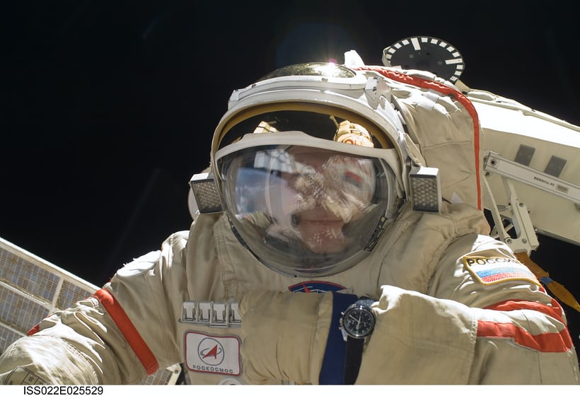 Oleg Kotov, Expedition 22 ISS with Omega Speedmaster