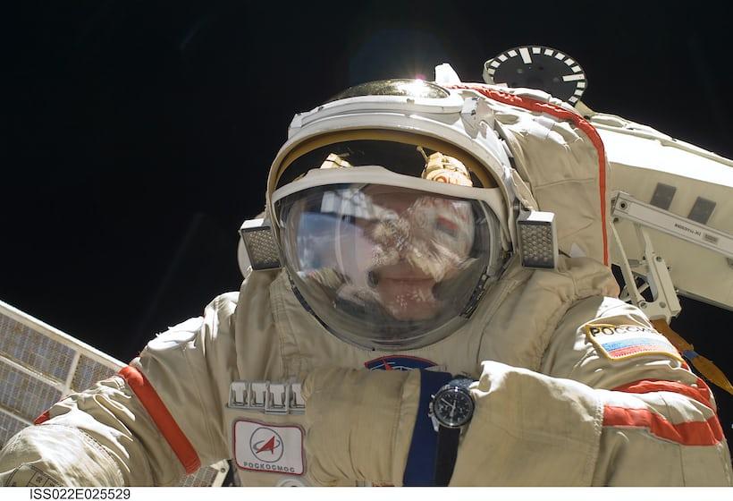 Oleg Kotov, Expedition 22 ISS with Omega Speedmaster