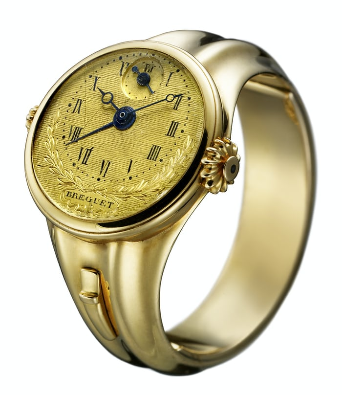 Breguet No. 180 Ring Watch With Alarm