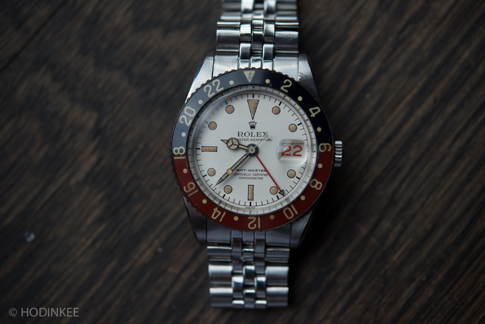 found  an example of the legendary albino rolex gmt