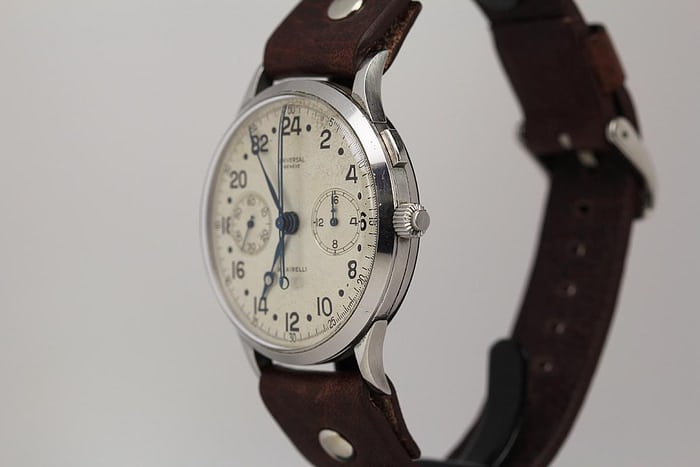 Universal Geneve Split-Second Military Chronograph Reference 22560
