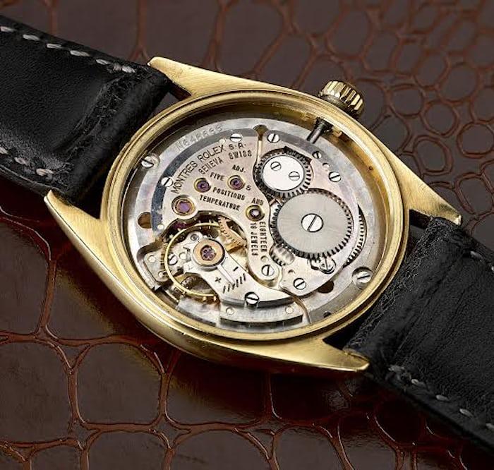 Rolex Veriflat thin reference 6512 movement 1000