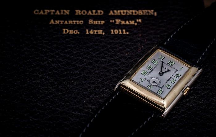 Roald Amundsen Benrus Rotary Club Presentation 1927