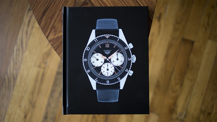 heuer autavia chronographs book