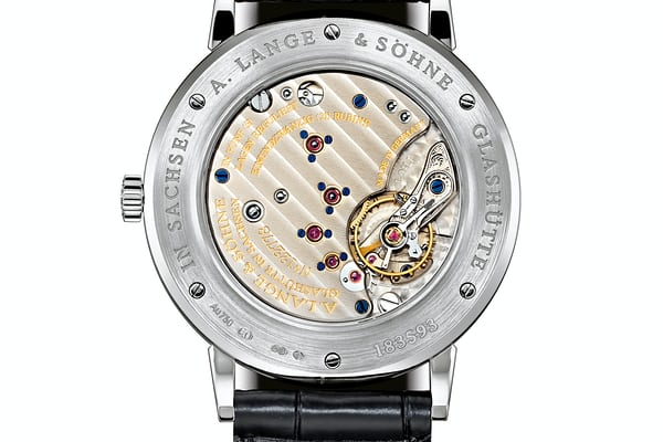 A. Lange & Söhne Saxonia With Grey Dial