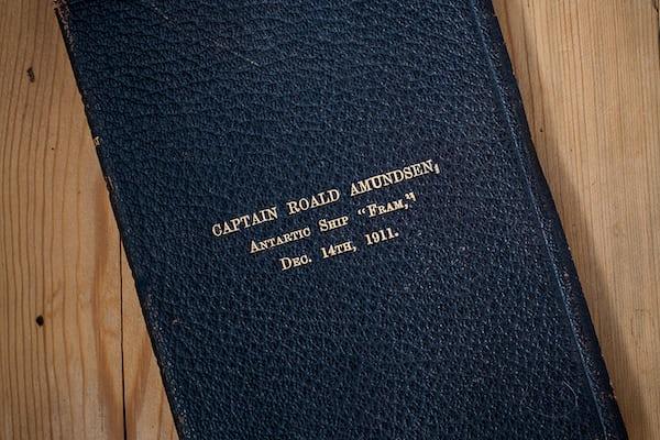 Amundsen expedition bible